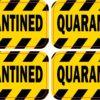 Quarantined Vinyl Stickers