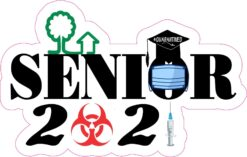 Biohazard Senior 2021 Vinyl Sticker