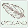 Oregano Vinyl Sticker