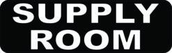 Supply Room Vinyl Sticker