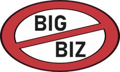 No Big Biz Vinyl Sticker