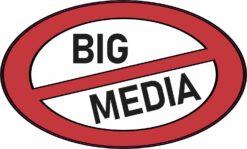 No Big Media Vinyl Sticker