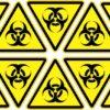 Biohazard Vinyl Stickers