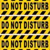 Do Not Disturb Vinyl Stickers