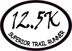Oval 12.5K Superior Trail Runner