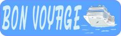 Bon Voyage Cruise Ship Magnet