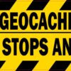 Official Geocache Vehicle Magnet