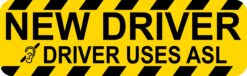New Driver Uses ASL Magnet