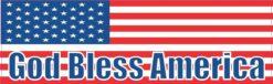 God Bless America USA Flag Magnet