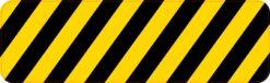 Caution Stripes Magnet
