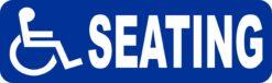 Wheelchair Seating Vinyl Sticker