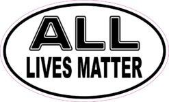 All Lives Matter Vinyl Sticker
