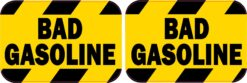 Bad Gasoline Vinyl Stickers