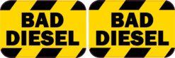 Bad Diesel Vinyl Stickers