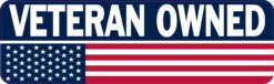 Veteran Owned Vinyl Sticker